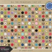 All the Princesses- Dot Kit