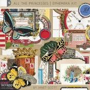 All the Princesses- Ephemera Kit