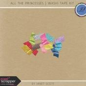 All the Princesses- Washi Tape Kit
