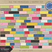 All the Princesses- Snippet Kit