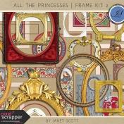 All the Princesses- Frame Kit 2