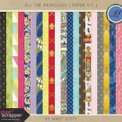 All the Princesses- Paper Kit 3
