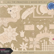 All the Princesses- Wood Bits