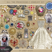 All the Princesses- Jewelry Kit