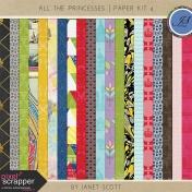 All the Princesses- Paper Kit 4