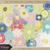 All the Princesses- Painted Flower Kit