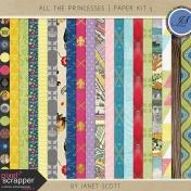 All the Princesses- Paper Kit 5