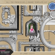 All the Princesses- Frame Template Kit 1