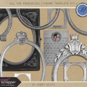 All the Princesses- Frame Template Kit 2