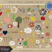 Apple Crisp- Enamel Pin Kit