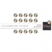 It's Elementary, My Dear- Brads Kit
