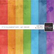 It's Elementary, My Dear- Solid Papers Kit