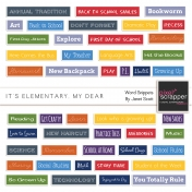 It's Elementary, My Dear- Word Snippets Kit