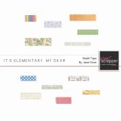 It's Elementary, My Dear- Washi Tape Kit