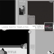 Large Photo Layout- Template Kit