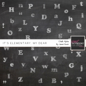 It's Elementary, My Dear- Chalk Alphabet Kit