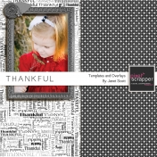 Thankful- October 2013 Blog Train- Overlays and Templates Kit