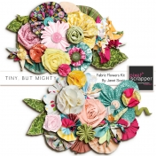 Tiny, But Mighty- Fabric Flower Kit