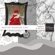 Winter Wonderland Template Kit