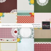 Grandma's Kitchen- Journal Card Kit 1