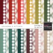 Grandma's Kitchen- Extra Paper Kit