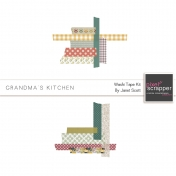 Grandma's Kitchen- Washi Tape Kit