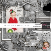 Christmas Memories- Templates Kit