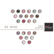 Be Mine- Brads Kit