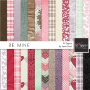Be Mine- Paper Kit