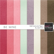 Be Mine- Solid Paper Kit