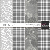 Be Mine- Paper Template and Overlay Kit