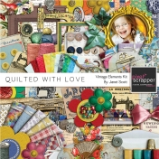 Quilted With Love- Vintage Elements Kit