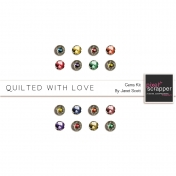 Quilted With Love- Gems Kit