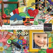 Quilted With Love- Modern Element Kit