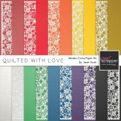 Quilted With Love- Modern Extra Paper Kit