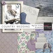 Country Wedding- March 2014 Blog Train Mini-Kit