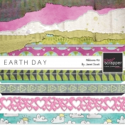 Earth Day- Borders and Ribbons Kit