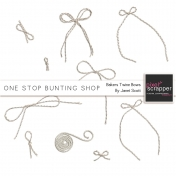 One Stop Bunting Shop- Baker's Twine Bows Kit