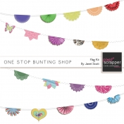 One Stop Bunting Shop- Pre-Made Flags Kit