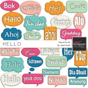 Hello- Speech Bubbles Kit
