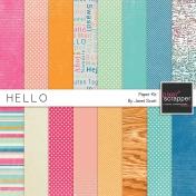 Hello- Paper Kit