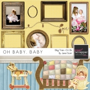 Oh Baby, Baby- June 2014 Blog Train Mini Kit