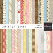 Oh Baby, Baby- Patterned Paper Kit