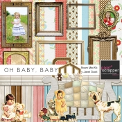 Oh Baby, Baby- Bedroom Papers and Elements Kit