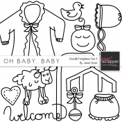 Oh Baby, Baby- Doodle Templates Set 3