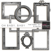 Oh Baby, Baby- Frame Templates Set 2