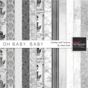 Oh Baby, Baby- Paper Textures and Overlays