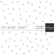 Oh Baby, Baby- Bead Alphabet