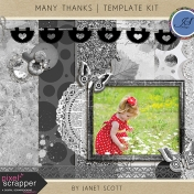 Many Thanks- Template Kit