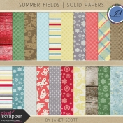 Summer Fields- Paper Kit